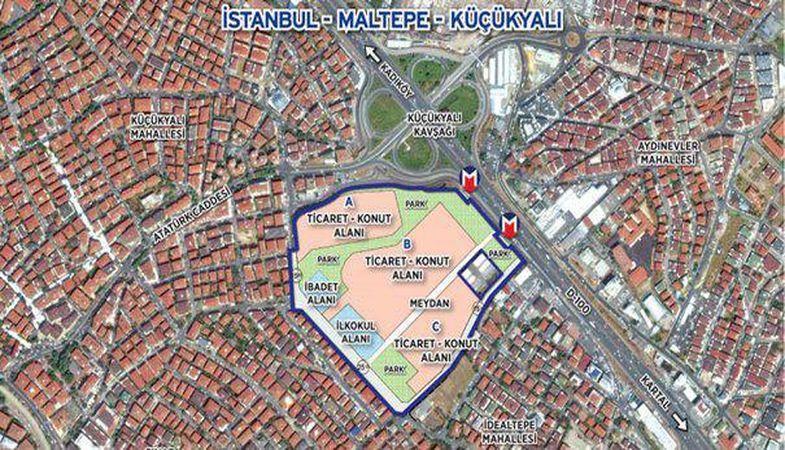 Emlak Konut Maltepe Küçükyalı İhalesi 2. Oturum 7 Haziran'da
