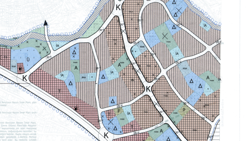 Ataşehir Yeni Sahra ve Yakın Çevresine İlişkin İmar Planı Askıda