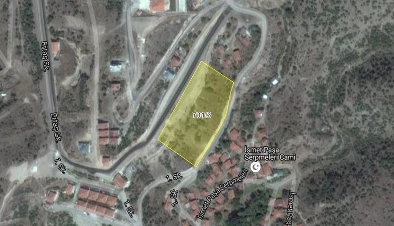 Kızılcahamam Belediyesi'nden İsmetpaşa'da Satılık Arsa