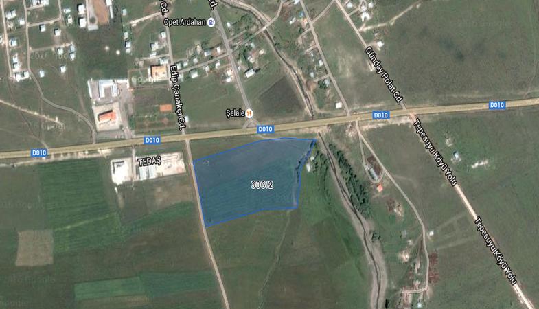 Ardahan'da Otogar ve Tır Transfer Merkezi Projesi Kapsamında Kamulaştırma