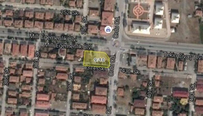 Erzincan Belediyesi'nden Satılık Arsa