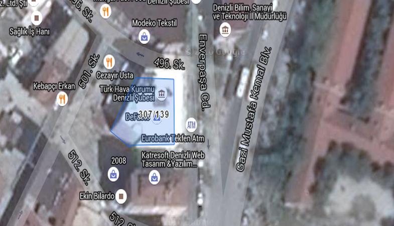 Türk Hava Kurumu'ndan Satılık 7 Katlı Apartman