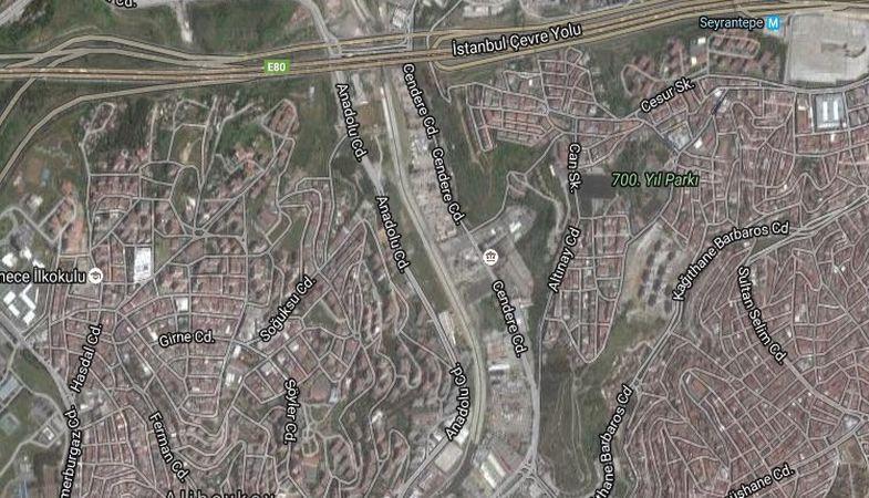 İstanbul DSİ'den Kağıthane'de Satılık Arsa