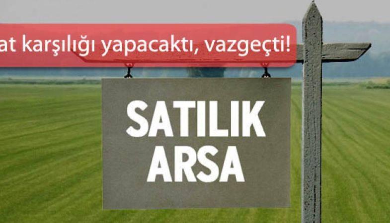 Martı GYO Tekirdağ Çerkezköy Arsasını Satışa Çıkarıyor