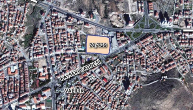 Nevşehir Emlak Konutları'nda Yer Teslimi Yapıldı