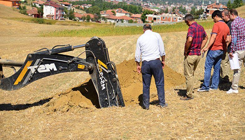 TOKİ Tokat Erbaa'da Zemin Etüdü Yaptı!