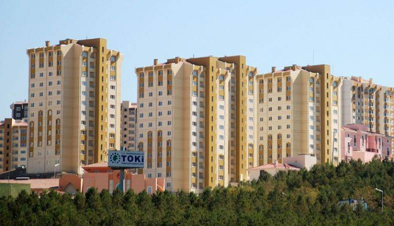 TOKİ'den Amasya Merzifon'da Satılık 232 Konut!