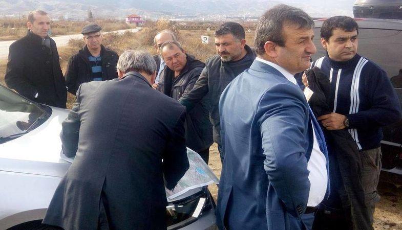 Manisa Alaşehir Toki Konutları'nda Etüp Çalışması Başladı