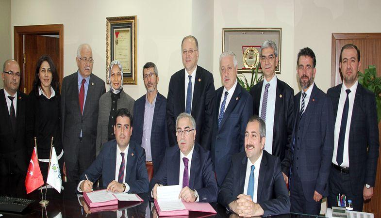 Toki Gaziantep Gazeteciler Basın Sitesi'nde İmzalar Atıldı