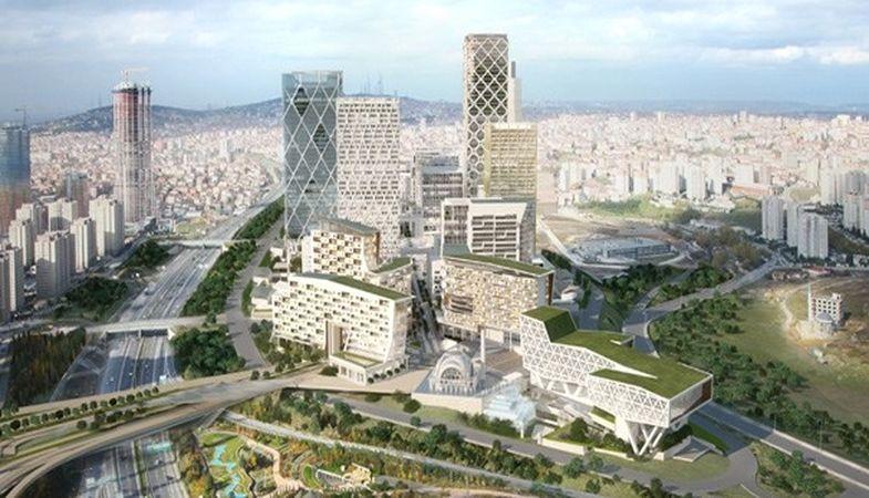 İstanbul Finans Merkezi'nde SPK ve BDDK Binaları İçin Kazma Vuruluyor
