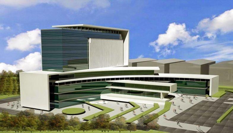 Pursaklar Devlet Hastanesi İnşaatında Son Durum