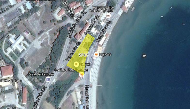 Gelibolu Belediyesi'nden Satılık Arsa