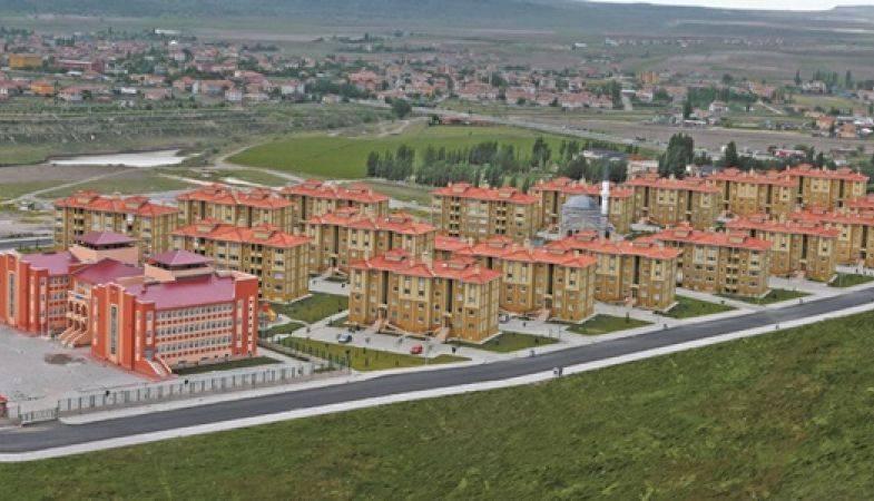 Toki'den Kayseri Develi'ye 129 Konutluk Proje
