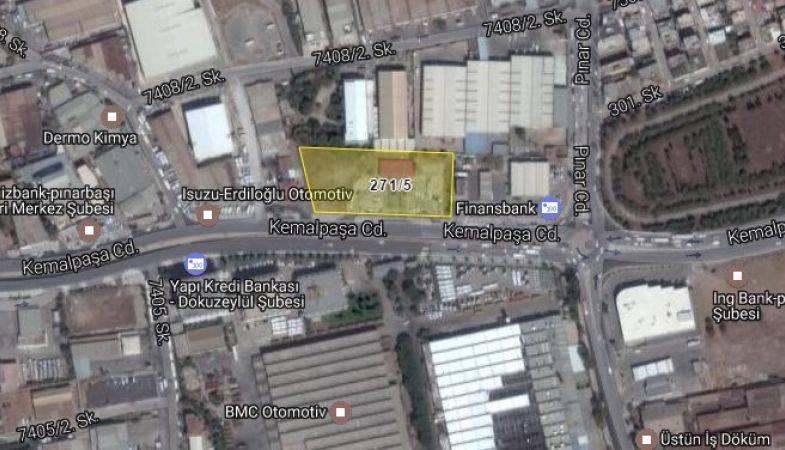 Bornova Belediyesi Emlak ve İstimlak Müdürlüğünden Satılık Taşınmaz