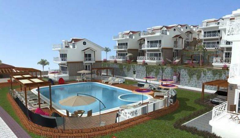 Mavi İnci Villaları İzmir Bademli'de Yükseliyor