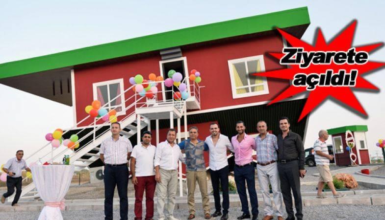 Türkiye'nin İlk Ters Evi!