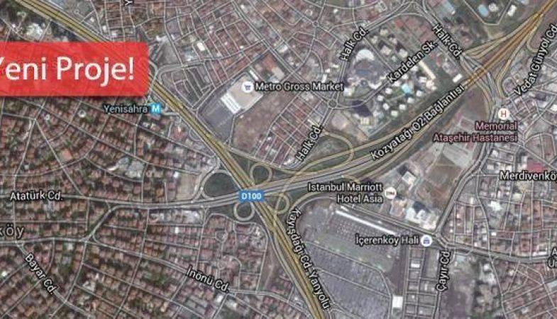 DKY İnşaat ve Ergaz Ortaklığından Ataşehir'e Yeni Proje