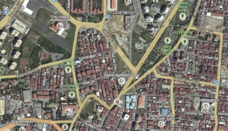 Halkalı'daki Bu Arsanın İmar Planı Askıda