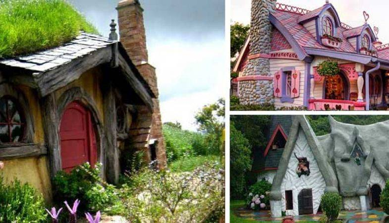 Peri Masallarını Andıran 14 İlginç Ev