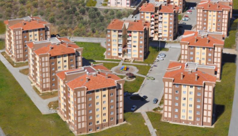 Toki'den Konya Beyşehir'e 99 Konutluk Proje