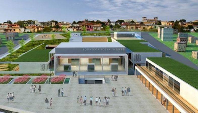Boğazköy'e Kültür ve Spor Merkezi Yapılıyor!