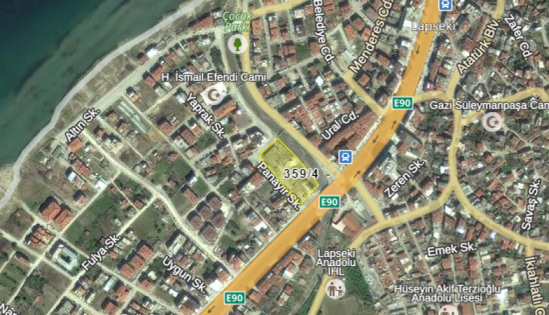 Çanakkale Lapseki'de Kat Karşılığı İnşaat Yaptırılacak