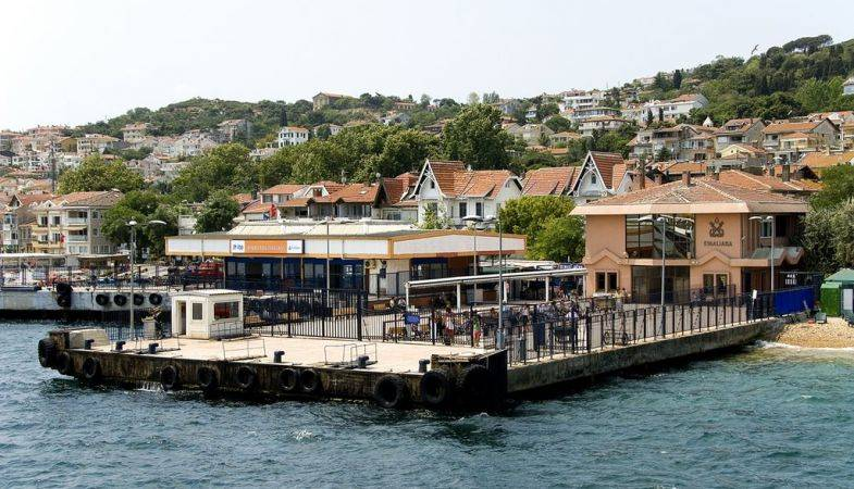 Kınalıada ve Burgazada Deniz Otobüsü İskelesi İmar Planı Askıda