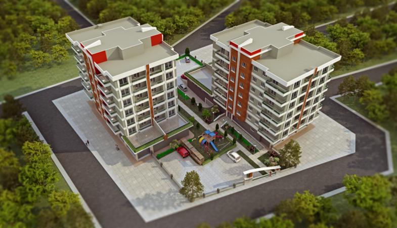 Rüya Park Evleri Projesi Ağustos 2015'te Teslim