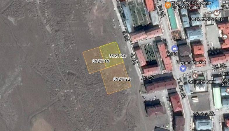 Erzurum Palandöken Belediyesi'nden Satılık 3 Arsa