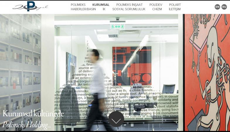 Polimeks Holding web sitesini yeniledi!