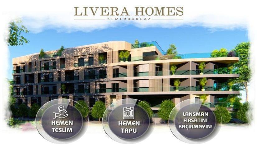 Livera Homes 2. etapta konut satışları başladı