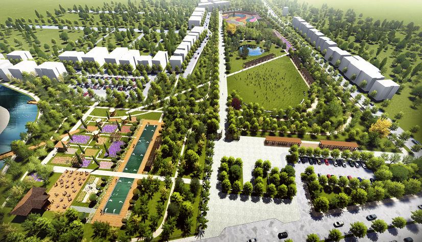 Manisa Soma'ya millet bahçesi yapılıyor