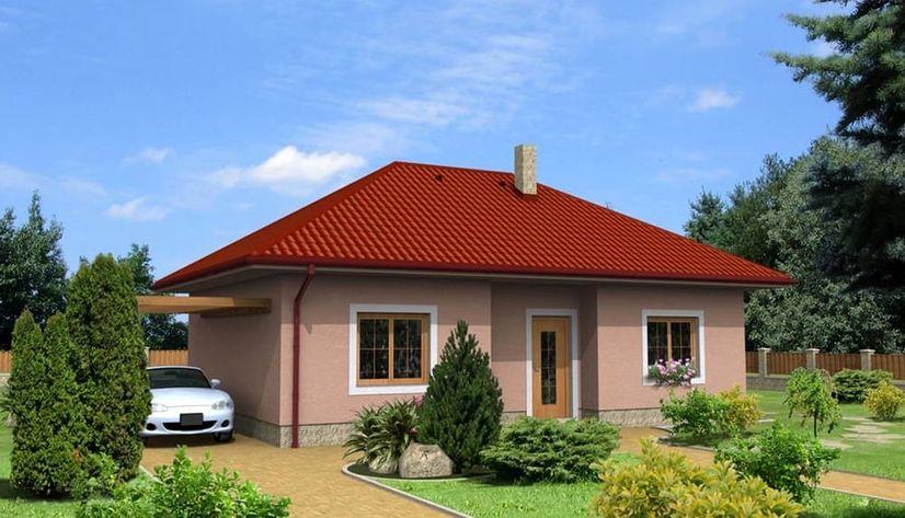 Kahramanmaraş'ta bungalov evler inşa ediliyor