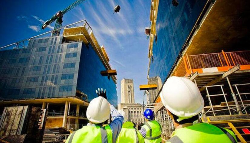 Muğlalı inşaatçılar iş bırakma eylemine katıldı
