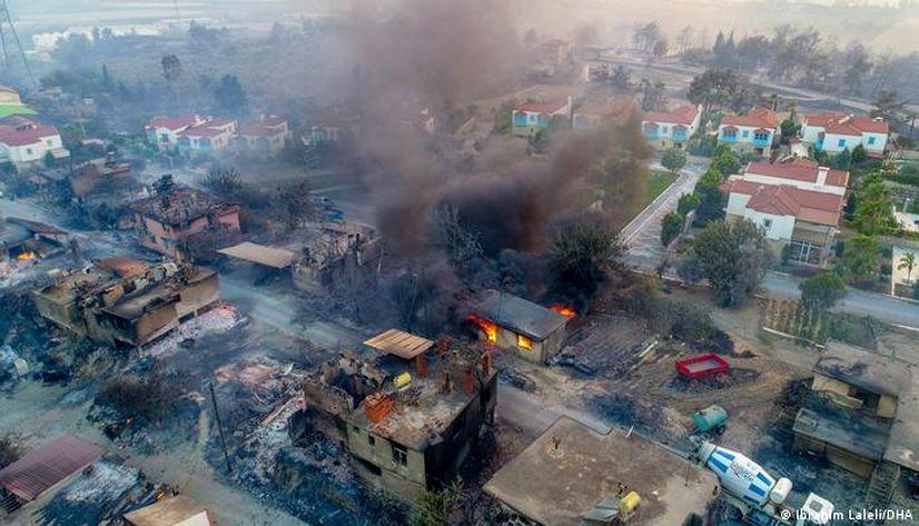 Yangından etkilenenlere yeni konutlar 1 yılda sunulacak