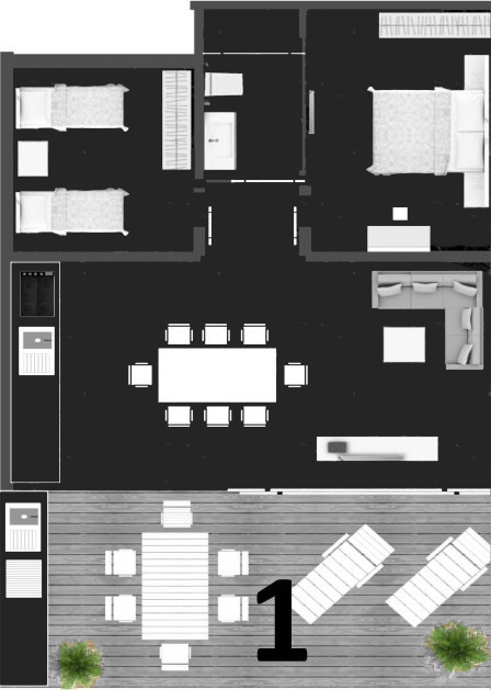 b modern residence projesi ve fiyatlar mu la bodrum. Black Bedroom Furniture Sets. Home Design Ideas